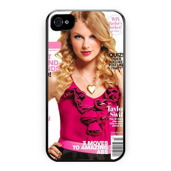 Taylor Swift Magazine Covers iPhone 4/4S Case