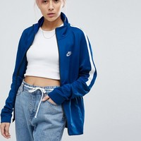 Nike Classic Track Jacket In Blue at asos.com