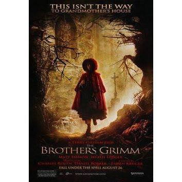 Brothers Grimm The Movie poster Metal Sign Wall Art 8in x 12in