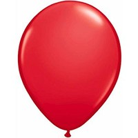 "Qualatex 16"" Red Latex Balloons (10ct)"