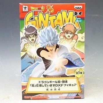 "Banpresto DragonBall Super x Gintama Gintoki Sakata ""Super"" Cheering DXF Figure"