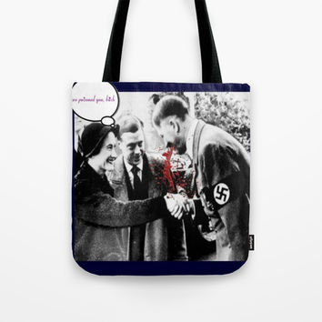 funwithhitler 1 Tote Bag by Kathead Tarot/David Rivera