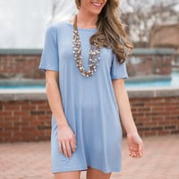 Versatile Vixen Dress, Sky Blue