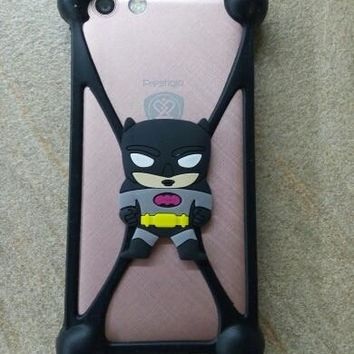 Cute Cartoon Batman hello kitty Silicon Case Cover phone Screen corner protection for DEXP Ixion P245 P350 X150 XL155 MS450 M450