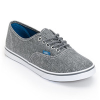 Vans Girls Authentic Lo Pro Castlerock Grey HB Print Shoe at Zumiez : PDP