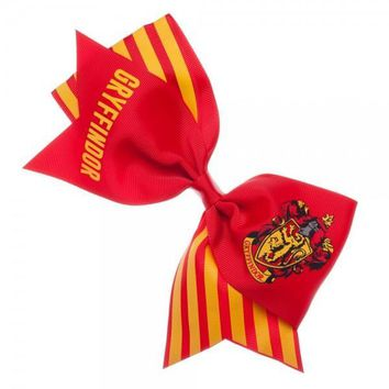 Harry Potter Gryffindor Hair Bow