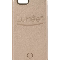 LuMee Illuminated Cell Phone Case for iPhone 6 - Retail Packaging - Rose Gold