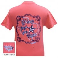 Roots-Texas Coral Roots-Texas Coral : Girlie Girl™ Originals - Great T-Shirts for Girlie Girls!