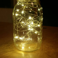 Sale: 4 Large Firefly Lights with Mason Jar (32oz)
