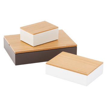Natural Stackers Wooden Lids