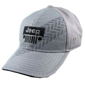 Jeep Tire Tread Mesh Front Cap