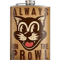 On the Prowl Flask 8 oz. Stainless Steel