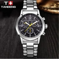 Leisure Fashion Men's Tandeng Stainless Steel Watch