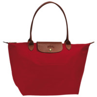 Large tote bag - Le Pliage - Handbags - Longchamp - Red - Longchamp United-States