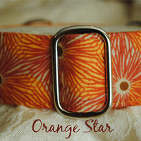 """Orange Star"" from CollarMyHeart"