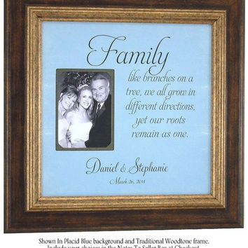 Wedding, PARENTS Gift, Mother, Father of the Bride, Frames, FAMILY, 16 X 16