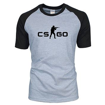 CS:GO Logo Two Tone T-Shirt