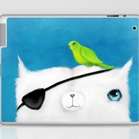 Pirate Cat Laptop & iPad Skin by Dale Keys | Society6