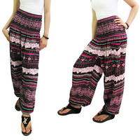 Harem Pants  Hippie pants Boho Pants Yoga pants Festival pants Thai pants Baggy Trousers  Womens Fashion # E25