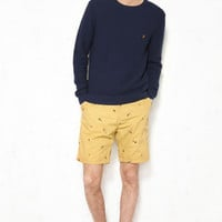 Farah Vintage Hobart Beige Fly Print Shorts at Urban Outfitters