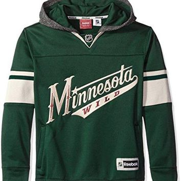 NHL Youth Boys 8-20 Wild Faceoff Jersey Hood