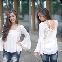 Secret Admirer Top (Light Taupe) - Piace Boutique