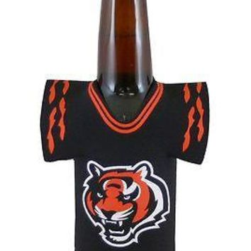 NFL Cincinnati Bengals Bottle Jersey Koozie Coozie Football