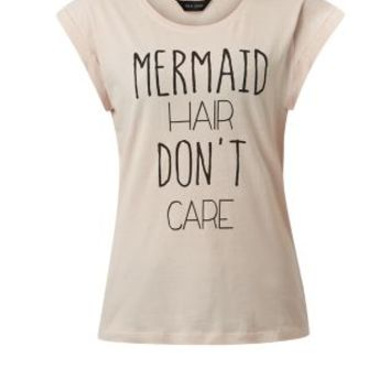 Pink Mermaid Hair Don't Care T-Shirt