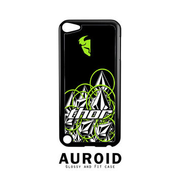 Thor Volcom Sentinel Stickerbomb Mx Protective iPod Touch 5 Case Auroid