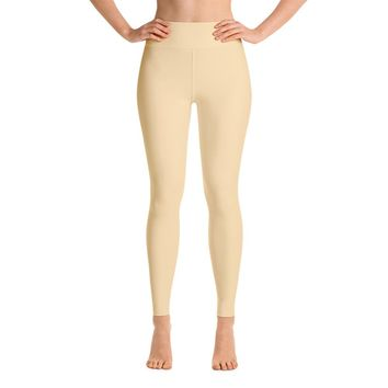 Solid Nude Yoga Leggings