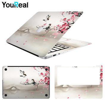 Laptop Protect Skin For MacBook Air 11.6 13.3 / Pro 13 15.6 17/ Retina 12 13 15 inch Notebook Skin Computer Stickers Cover