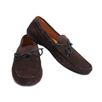 """Nice Little Saturdays"" Suede Loafers"