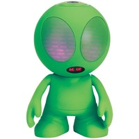 Supersonic Bluetooth Alien Portable Speaker (green)