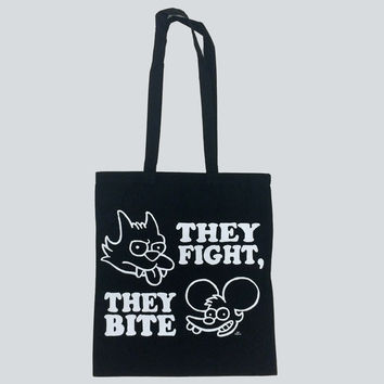 Itchy & Scratchy Tote Bag
