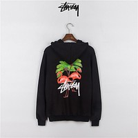 Stussy Unisex Casual Top Sweater Pullover Hoodie