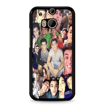 Dolan Twins Collage 3 1 HTC M8 Case