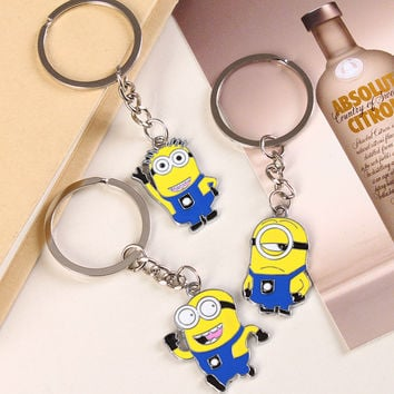 Despicable Minions Key Ring -Free Shipping