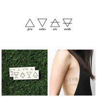 Alchemy - Temporary Tattoo (Set of 2)