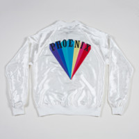 LIMITED EDITION 'TRYING TO BE COOL' IVORY JACKET