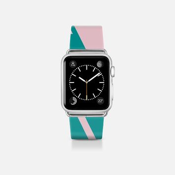 Jagged Edges Apple Watch Band (38mm)  by Bunhugger Design | Casetify