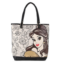 Disney Beauty And The Beast Belle Canvas Tote Bag