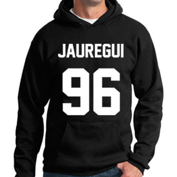 Fifth Harmony Hoodie Lauren Jauregui 96 Hooded Sweatshirt Logo Black White Gray Red Maroon Unisex Hoodie Tee S,M,L,XL #3