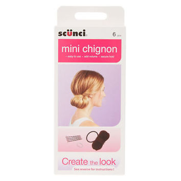 Claire's Girl's Mini Chignon Hair Styling Kit.