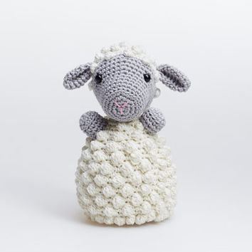 Sheep Toy, Lamp Plushie, Sheep Plush, Sheep Crochet Toy, Sheep Amigurumi, Lamp Amigurumi, Lamp Stuffed Animal, Sheep Stuffed Toy