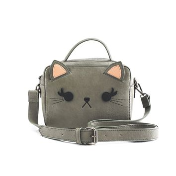 Loungefly Grey Cat Crossbody Bag - Cat Collection - Collections