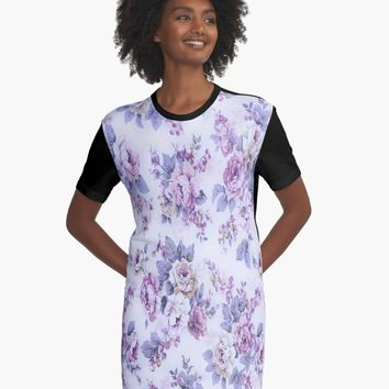 """""""Vintage tea roses """" A-Line Dress by jessicaivy 