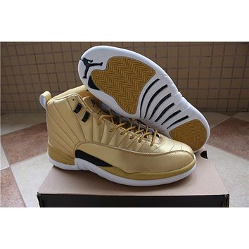 Air Jordan 12 Pinnacle Gold Sport Shoe | Best Online Sale