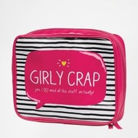 Girly Crap Wash Bag