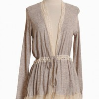 wings of lace beige cardigan at ShopRuche.com, Vintage Inspired Clothing, Affordable Clothes, Eco friendly Fashion