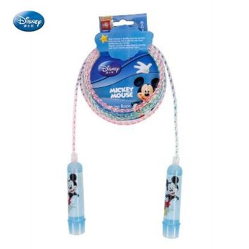 Disney Mickey Plastic Handle Rainbow Jump Rope for Kids DBA10689-Q  Professional Good Jump Rope